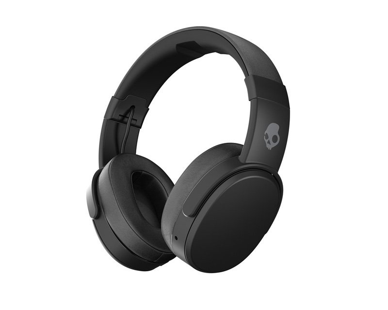 Crusher Over-Ear Wireless Headphones Black in the group PC Peripherals / Headsets & Audio / Gaming headphones / Wireless at MaxGaming (10070)