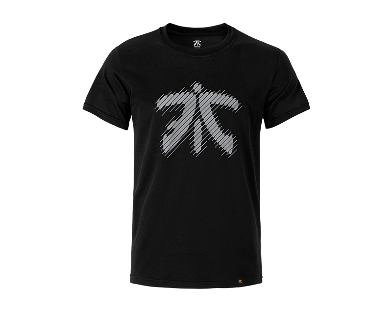 Line Logo - Premium T Black in the group Clothing / Team store / Fnatic at MaxGaming (10138)