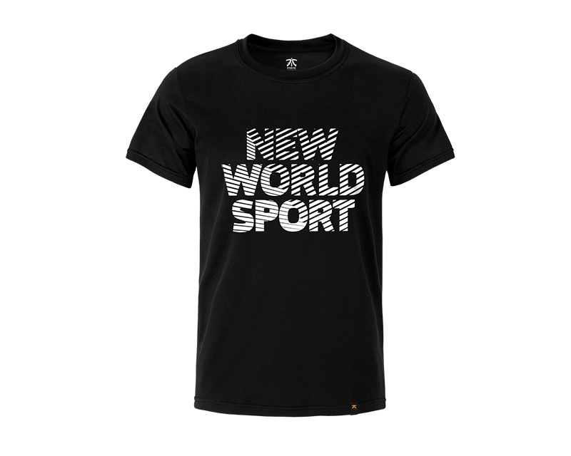 New World Sport - Premium T Black in the group Clothing / Team store / Fnatic at MaxGaming (10142)