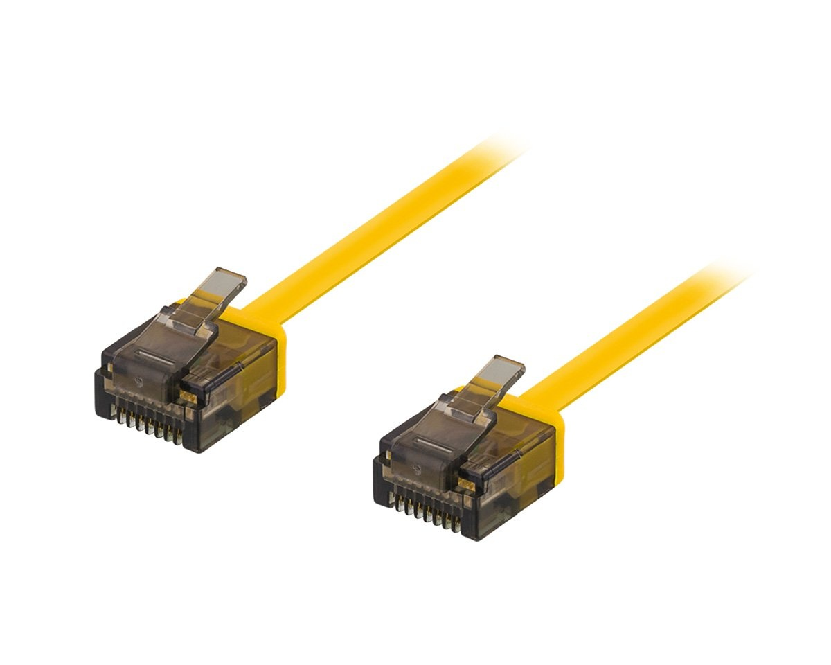 UTP Network cable Cat6 2m Yellow in the group PC Peripherals / Router & Networking / Ethernet cables at MaxGaming (10430)