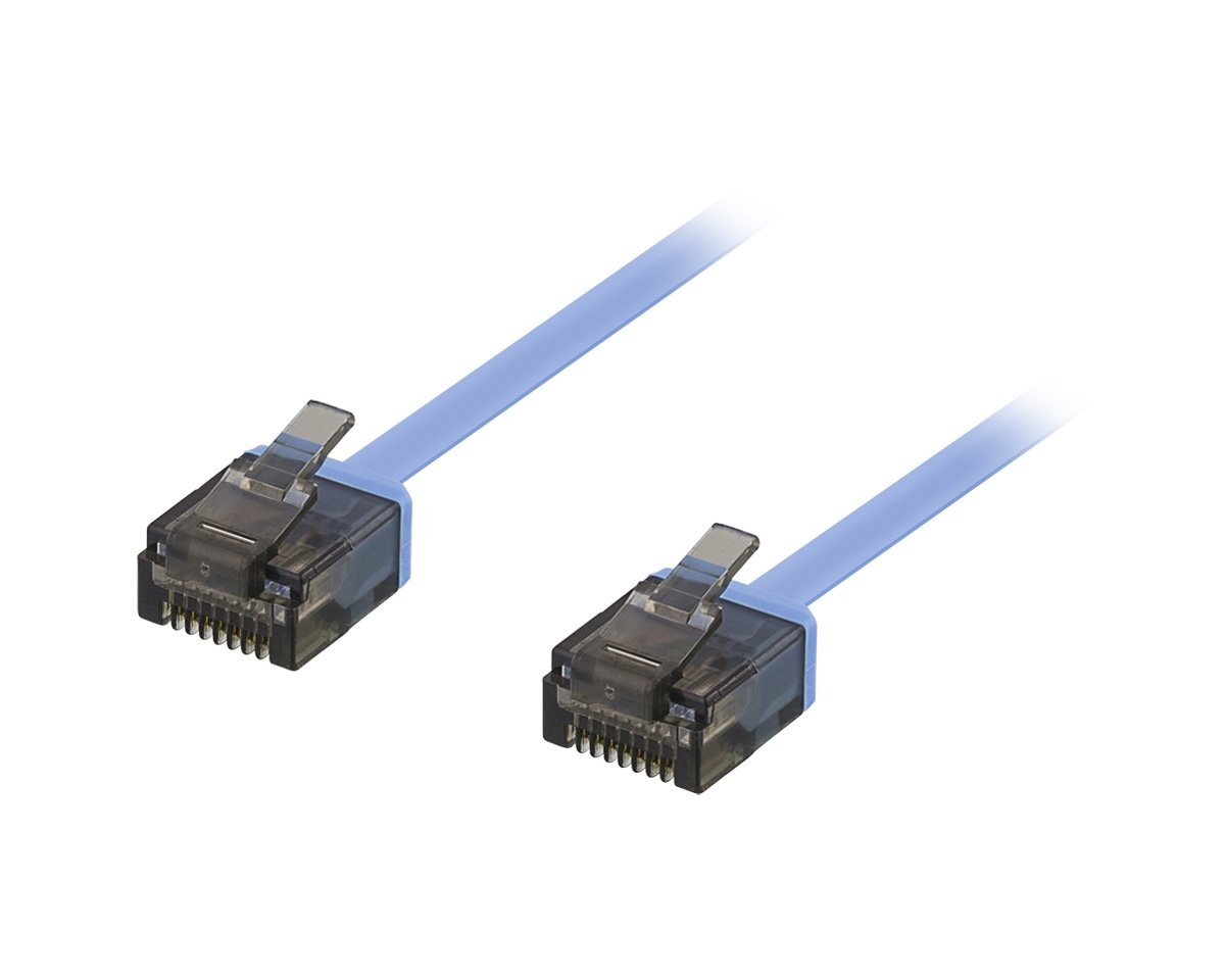 UTP Network cable Cat6 2m Blue in the group PC Peripherals / Router & Networking / Ethernet cables at MaxGaming (10508)