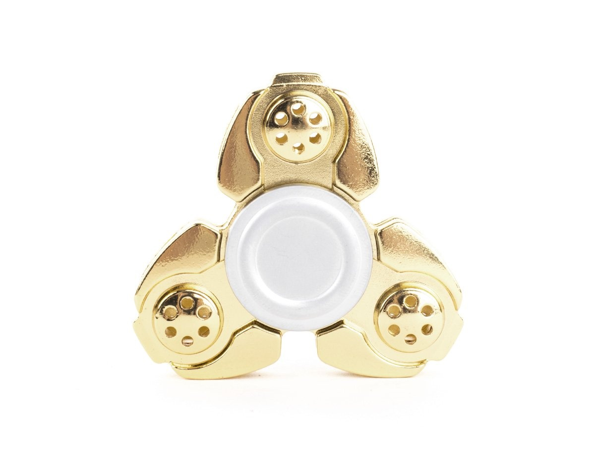 Fidget Spinner Metal DV - Golden in the group Fidget spinner at MaxGaming (10944)