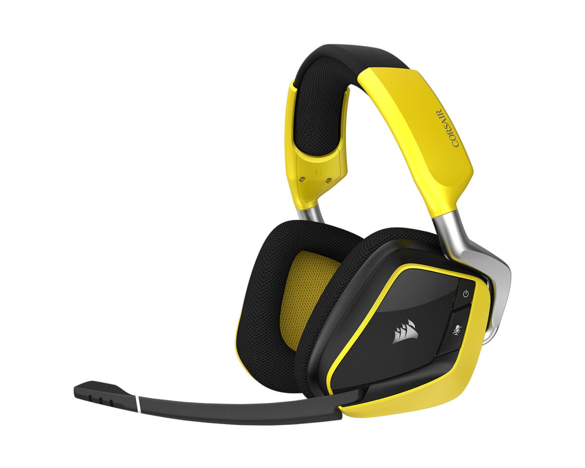 VOID PRO RGB Wireless SE Yellow in the group PC Peripherals / Headsets & Audio / Gaming headset / Wireless at MaxGaming (11203)