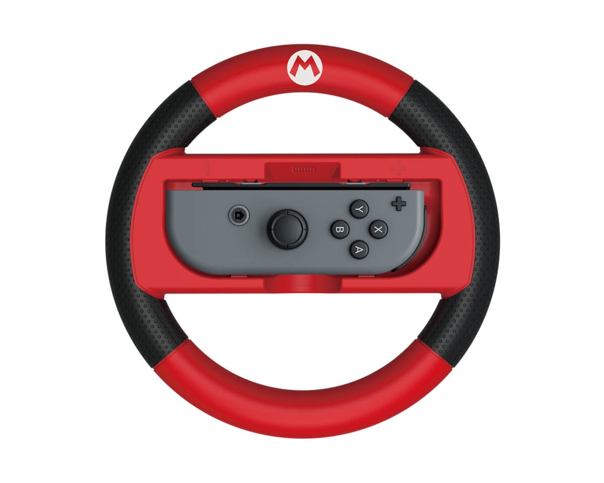 Switch Racing Wheel Mario in the group Console / Nintendo / Switch Accessories / Controller at MaxGaming (11236)