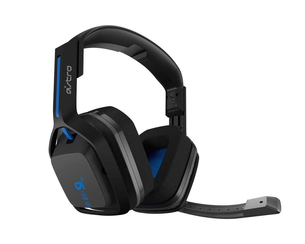 Buy Astro A20 Wireless Headset Gen1 Blue Ps4 Pc Mac At Maxgaming Com