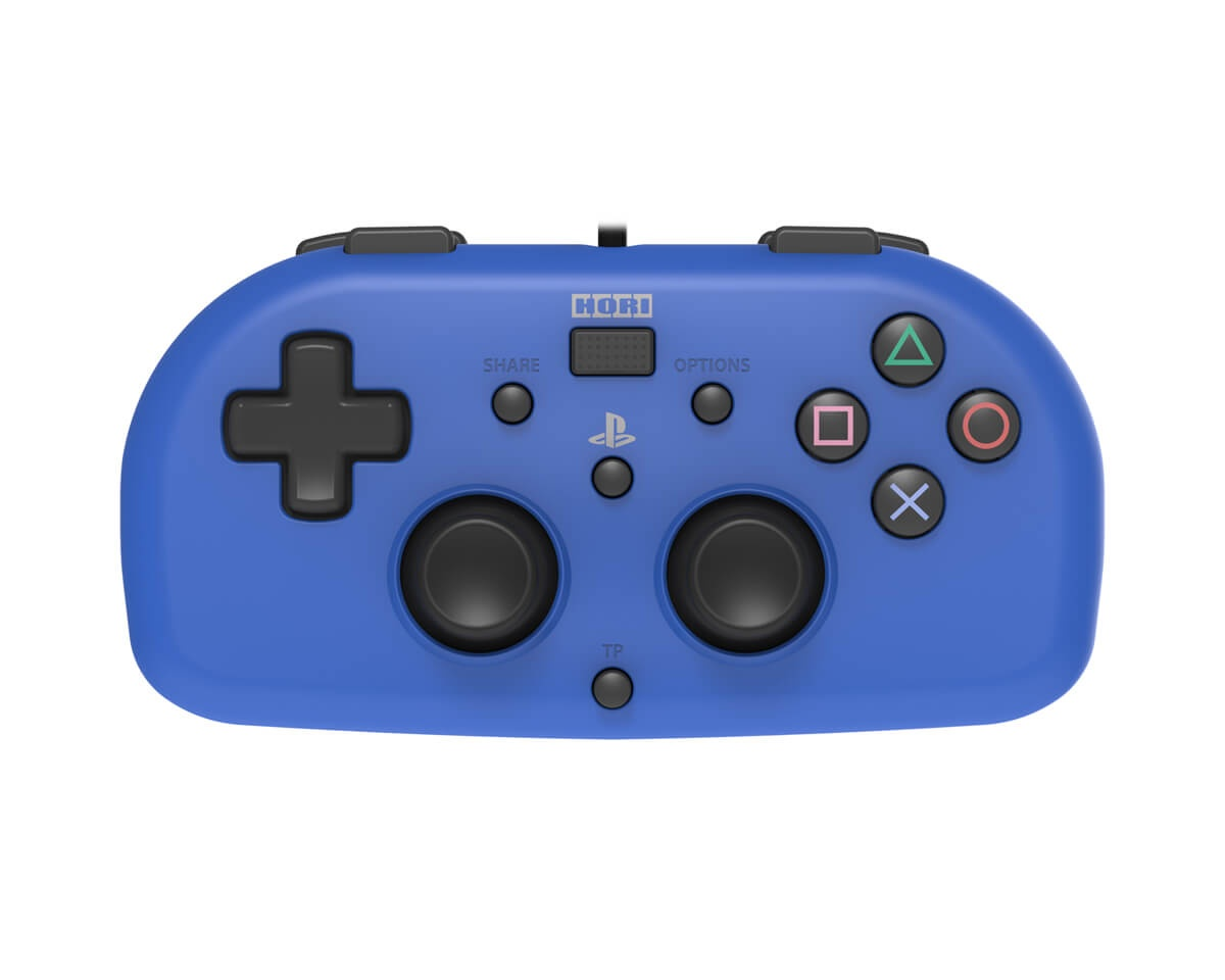 Mini Gamepad PS4 Blue in the group Console / Playstation / PS4 Accessories / Controller at MaxGaming (11655)