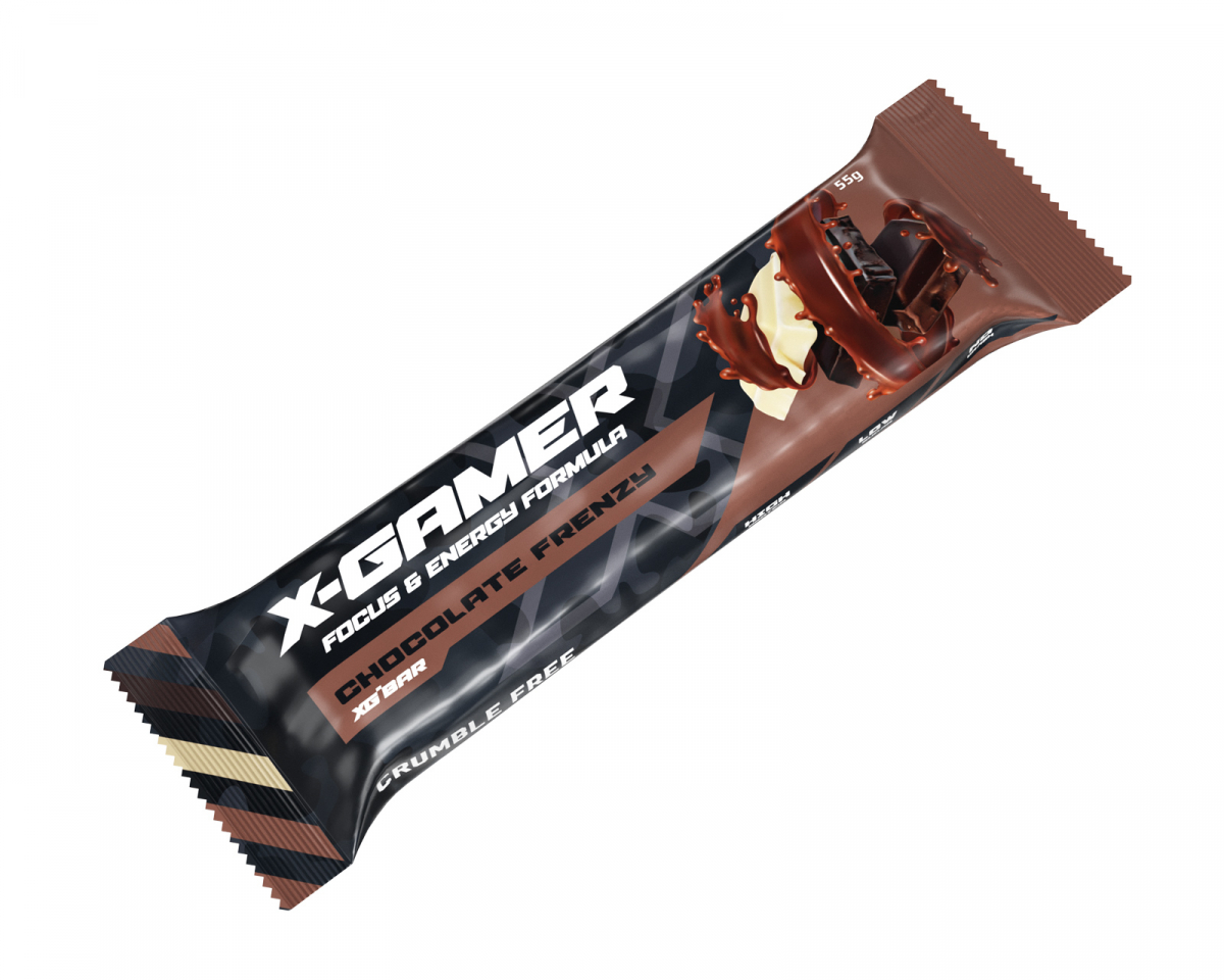 55g X-Bar Chocolate Frenzy in the group Home & Leisure / Drinks & Energy at MaxGaming (117)