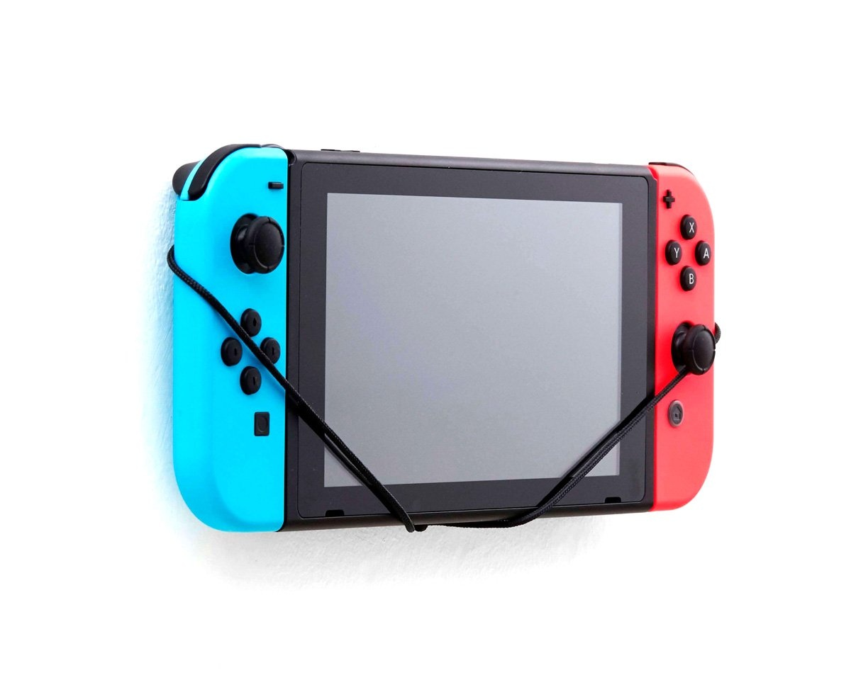 Nintendo Switch Wall Mount (Blue/Red) in the group Console / Nintendo / Switch Accessories / Miscellaneous at MaxGaming (11733)