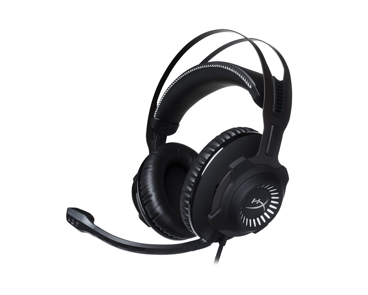 Cloud Revolver Gaming Headset- Gun Metal in the group PC Peripherals / Headsets & Audio / Gaming headset / Wired at MaxGaming (12568)