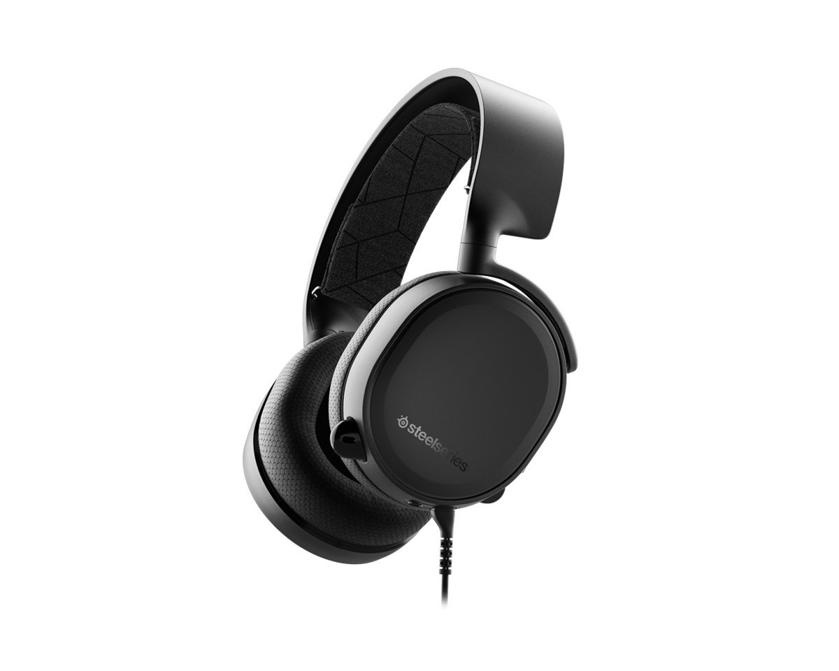 Arctis 3 Gaming Headset Black - 2019 Edition in the group Console / Playstation / PS4 Accessories / Headsets at MaxGaming (12750)
