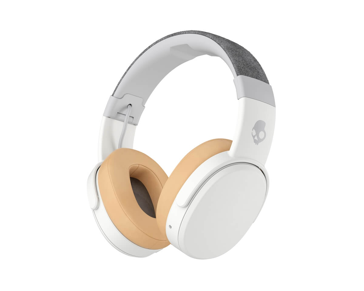 Crusher Over-Ear Wireless Headphones White in the group PC Peripherals / Headsets & Audio / Gaming headphones / Wireless at MaxGaming (13048)