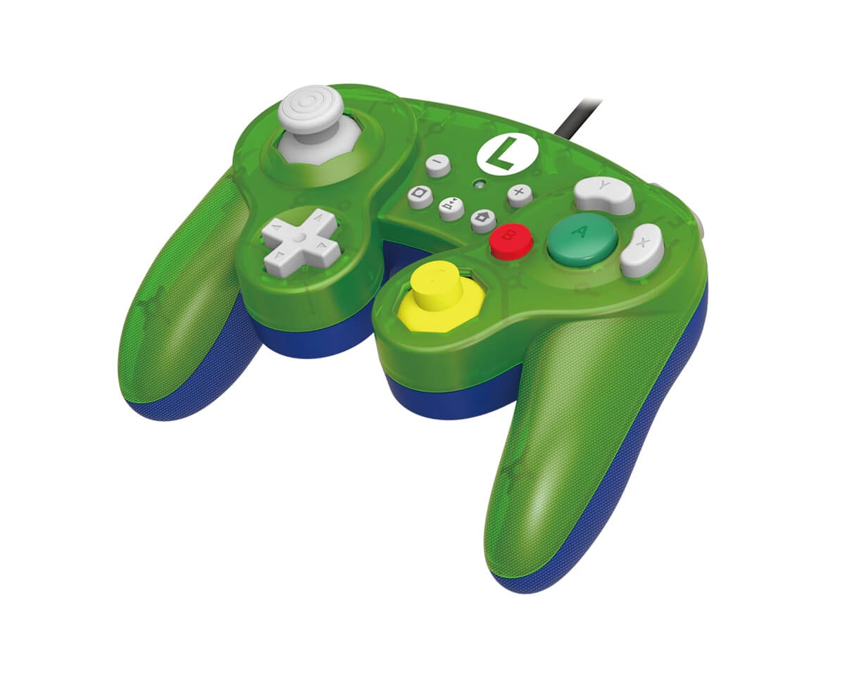 Battle Pad Luigi for Nintendo Switch in the group Console / Nintendo / Accessories / Controller at MaxGaming (13199)