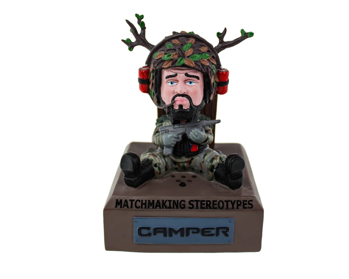 The Camper - Bobblehead in the group Home & Leisure / Collectible figures / Fandrops at MaxGaming (13342)