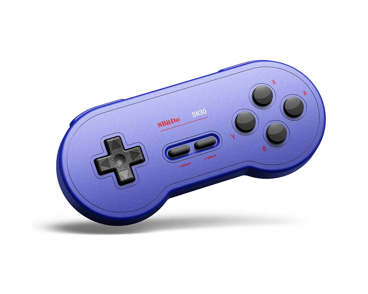Sn30 Bluetooth Gamepad (GP Blue Edition) in the group Console / Nintendo / Accessories / Controller at MaxGaming (13414)