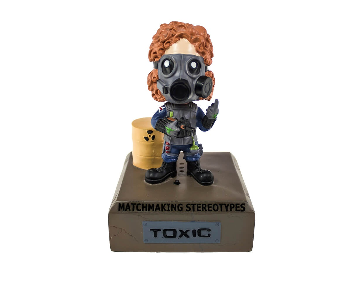 The Toxic - Bobblehead in the group Home & Leisure / Collectible figures / Fandrops at MaxGaming (13541)
