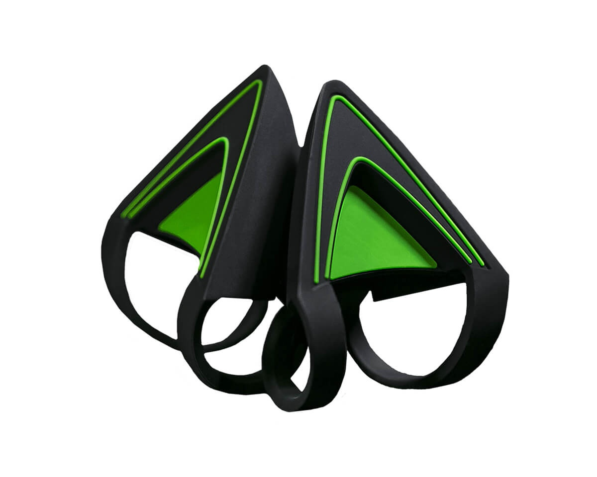 Kitty Ears Green in the group PC Peripherals / Headsets & Audio / Gaming headset / Wired at MaxGaming (14439)