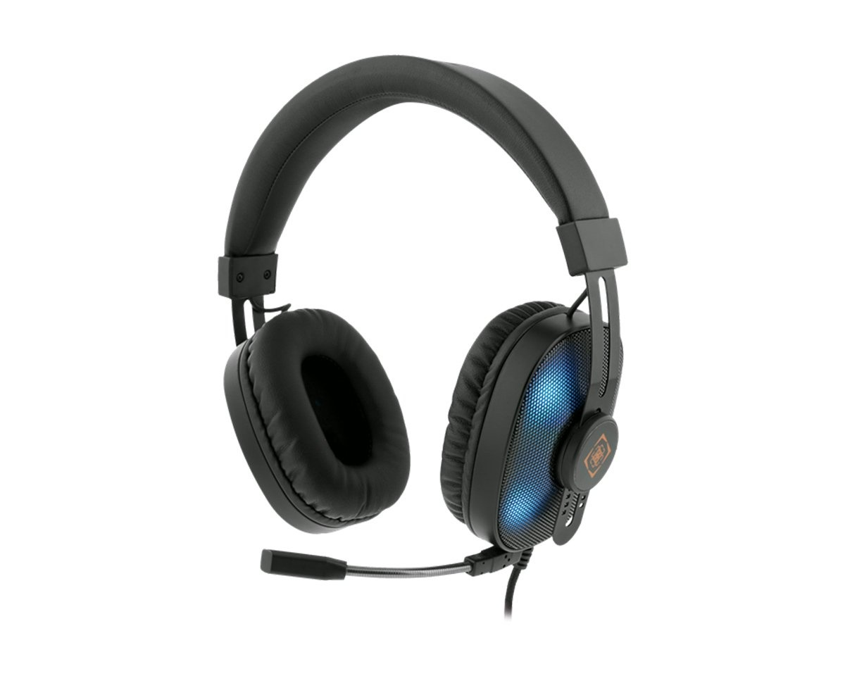 Stereo Headset with RGB-LED in the group PC Peripherals / Headsets & Audio / Gaming headset / Wired at MaxGaming (14679)