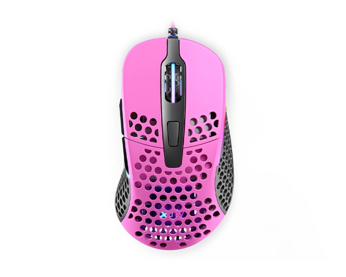 M4 RGB Pink in the group PC Peripherals / Mice & Accessories / Gaming mice / Wired at MaxGaming (14920)