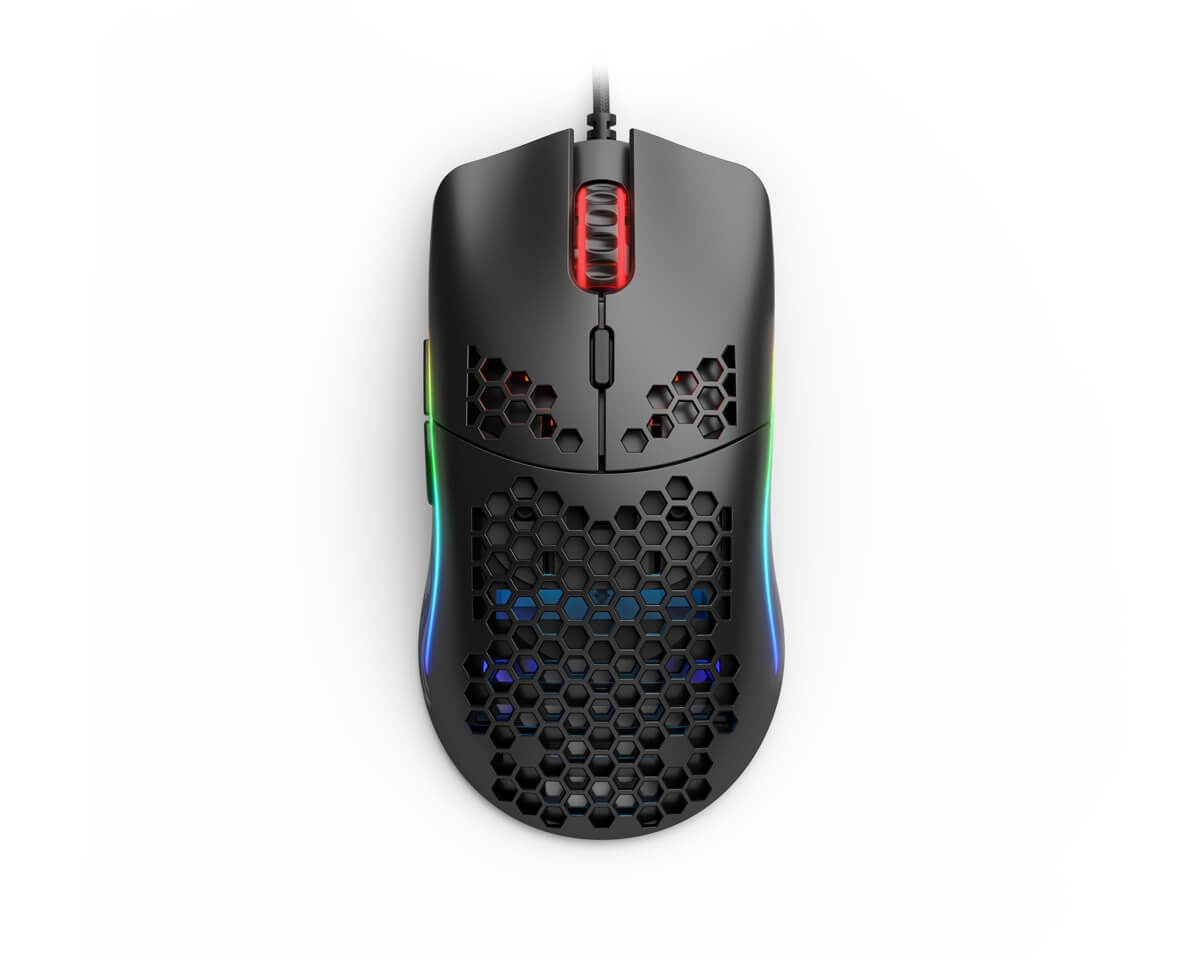 Model O- Gaming Mouse Black in the group PC Peripherals / Mice & Accessories / Gaming mice / Wired at MaxGaming (14941)