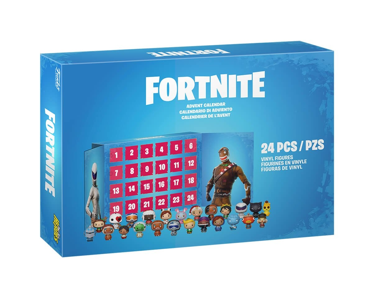 Advent Calendar: Fortnite 24-piece (PSH) in the group Home & Leisure / Collectible figures / Funko Pop Figures at MaxGaming (15102)
