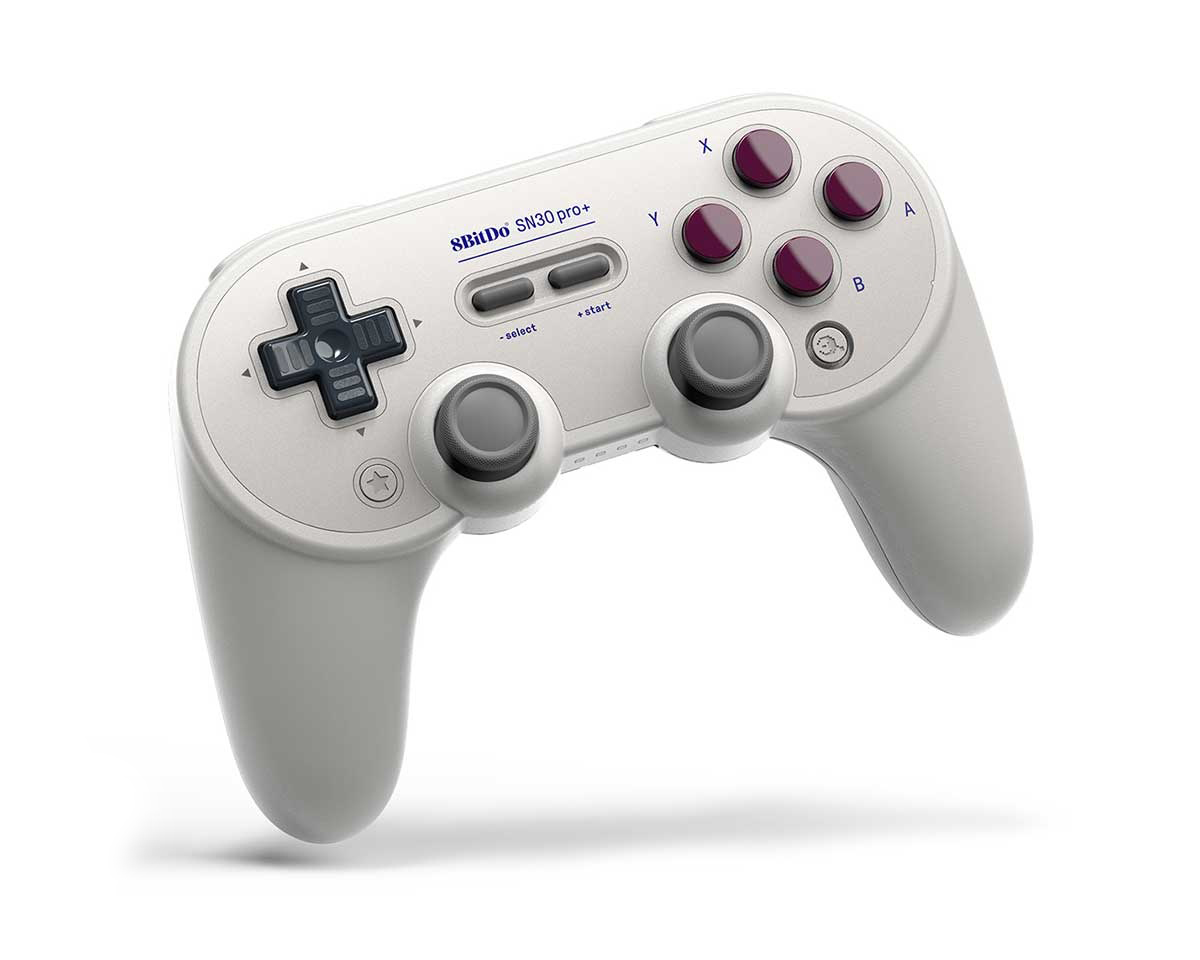 SN30 Pro+ Bluetooth Gamepad (G Edition) in the group Console / Nintendo / Switch Accessories / Controller at MaxGaming (15222)