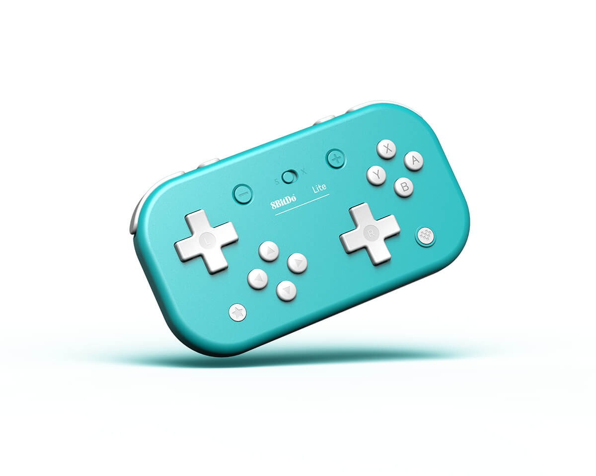 Lite Bluetooth Gamepad for Nintendo Switch Lite - Turquoise in the group Console / Nintendo / Accessories / Controller at MaxGaming (15248)