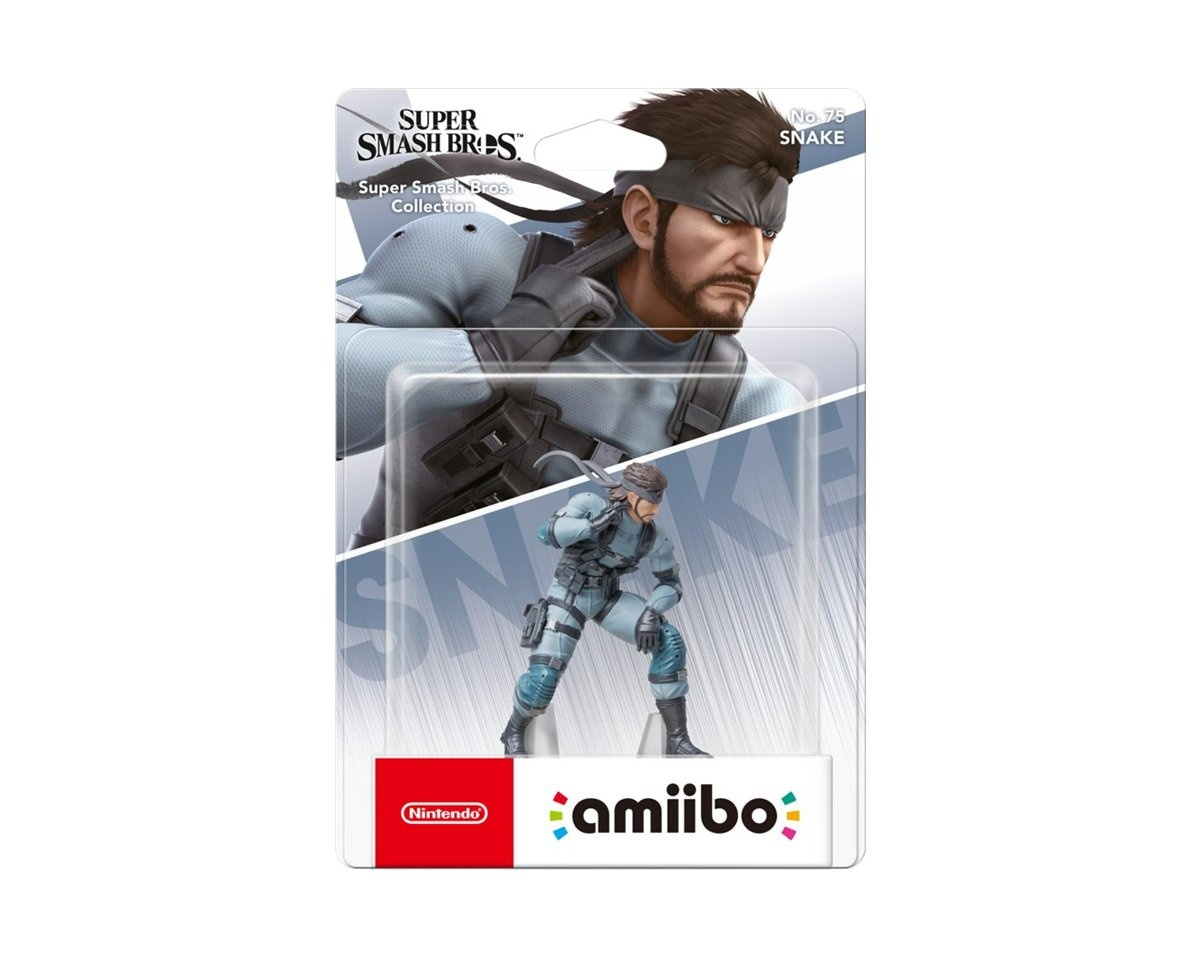 amiibo Smash Snake in the group Console / Nintendo / Amiibo figure at MaxGaming (15344)