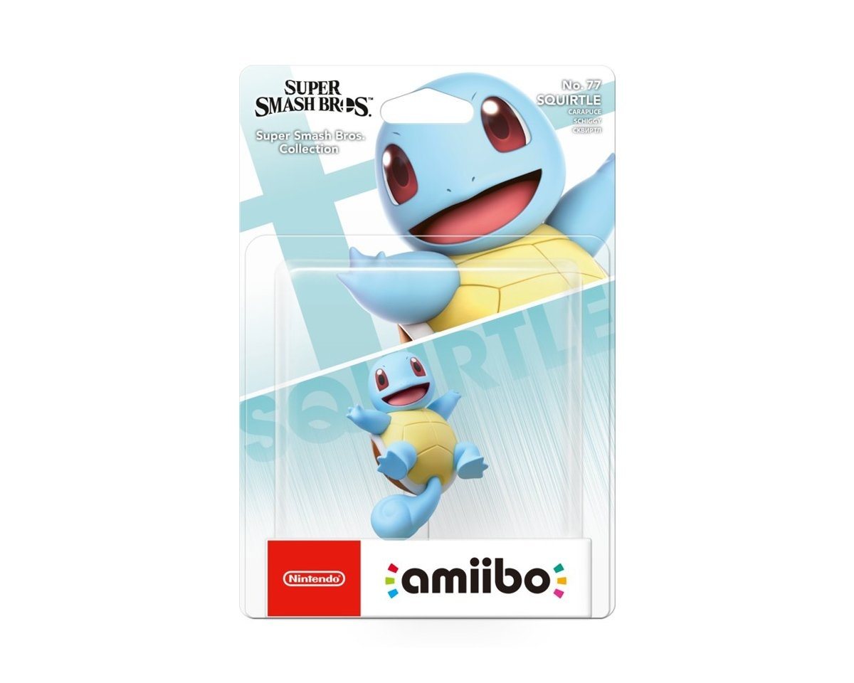 amiibo Smash Squirtle in the group Console / Nintendo / Amiibo figure at MaxGaming (15346)