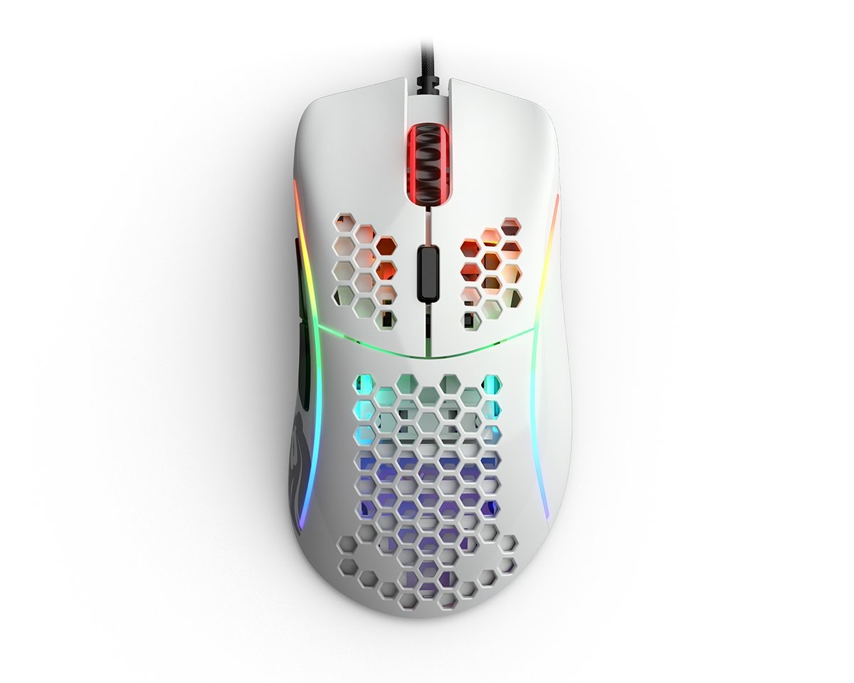Buy Glorious Model D Gaming Mouse Glossy White at MaxGaming.com