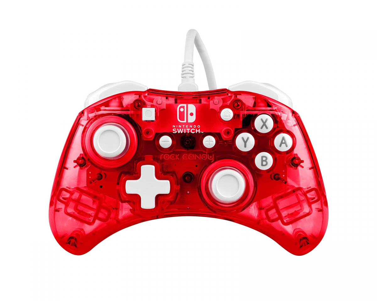 Rock Candy Stormin Cherry Nintendo Switch Controller - Red in the group Console / Nintendo / Accessories / Controller at MaxGaming (15647)