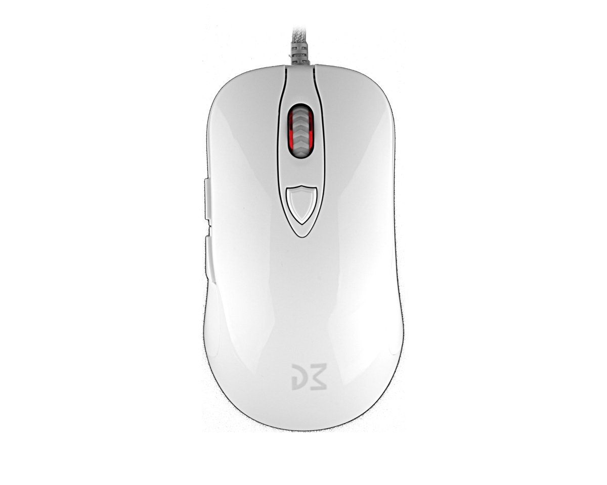 DM1 FPS Pearl White in the group PC Peripherals / Mice & Accessories / Gaming mice / Wired at MaxGaming (15683)