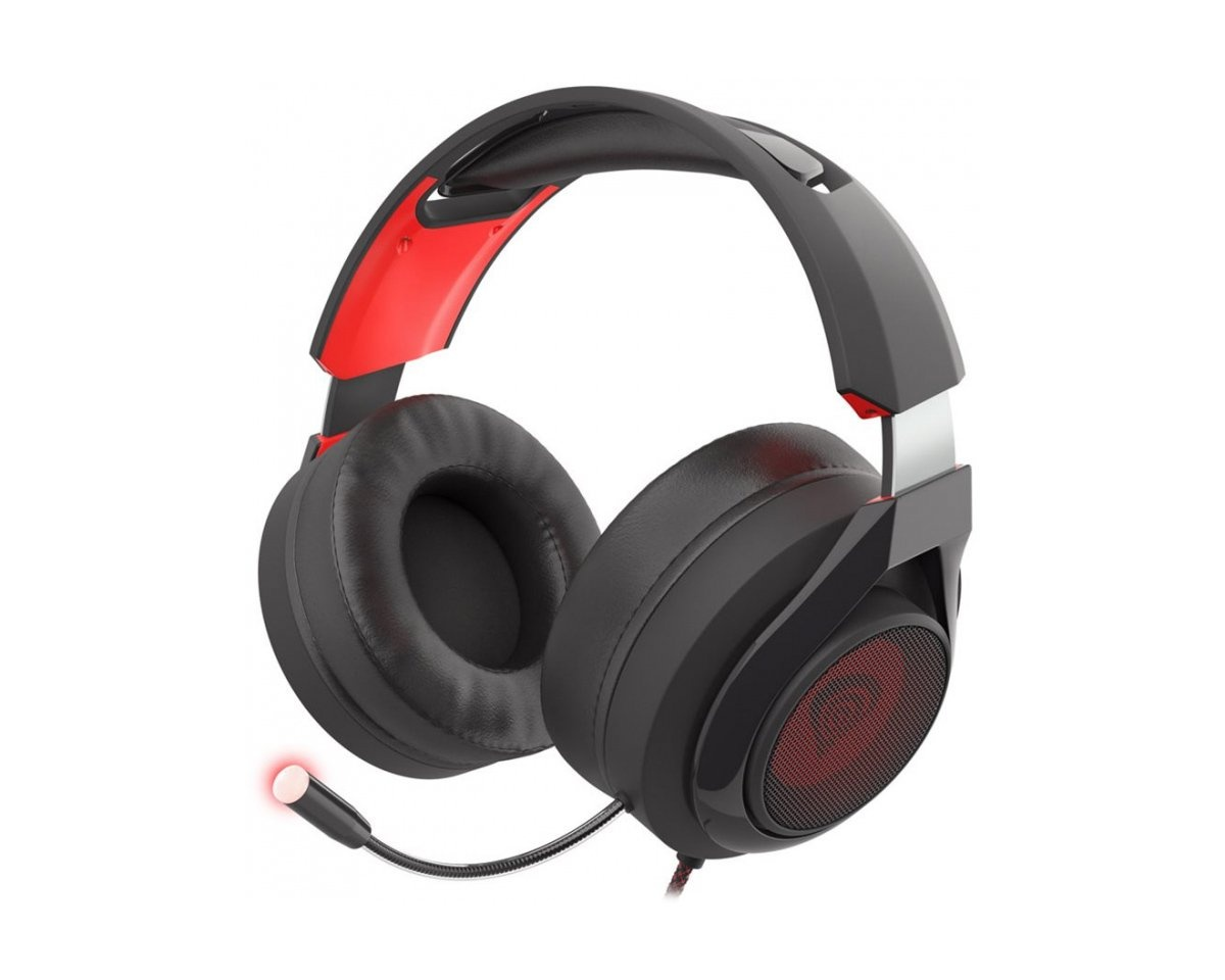 Radon 610 Gaming Headset 7.1 Backlight in the group PC Peripherals / Headsets & Audio / Gaming headset / Wired at MaxGaming (15849)