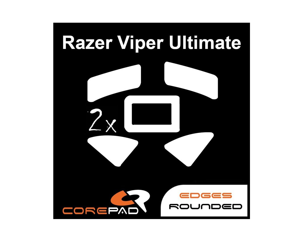 Skatez for Razer Viper Ultimate in the group PC Peripherals / Mice & Accessories / Mouse skates at MaxGaming (16207)