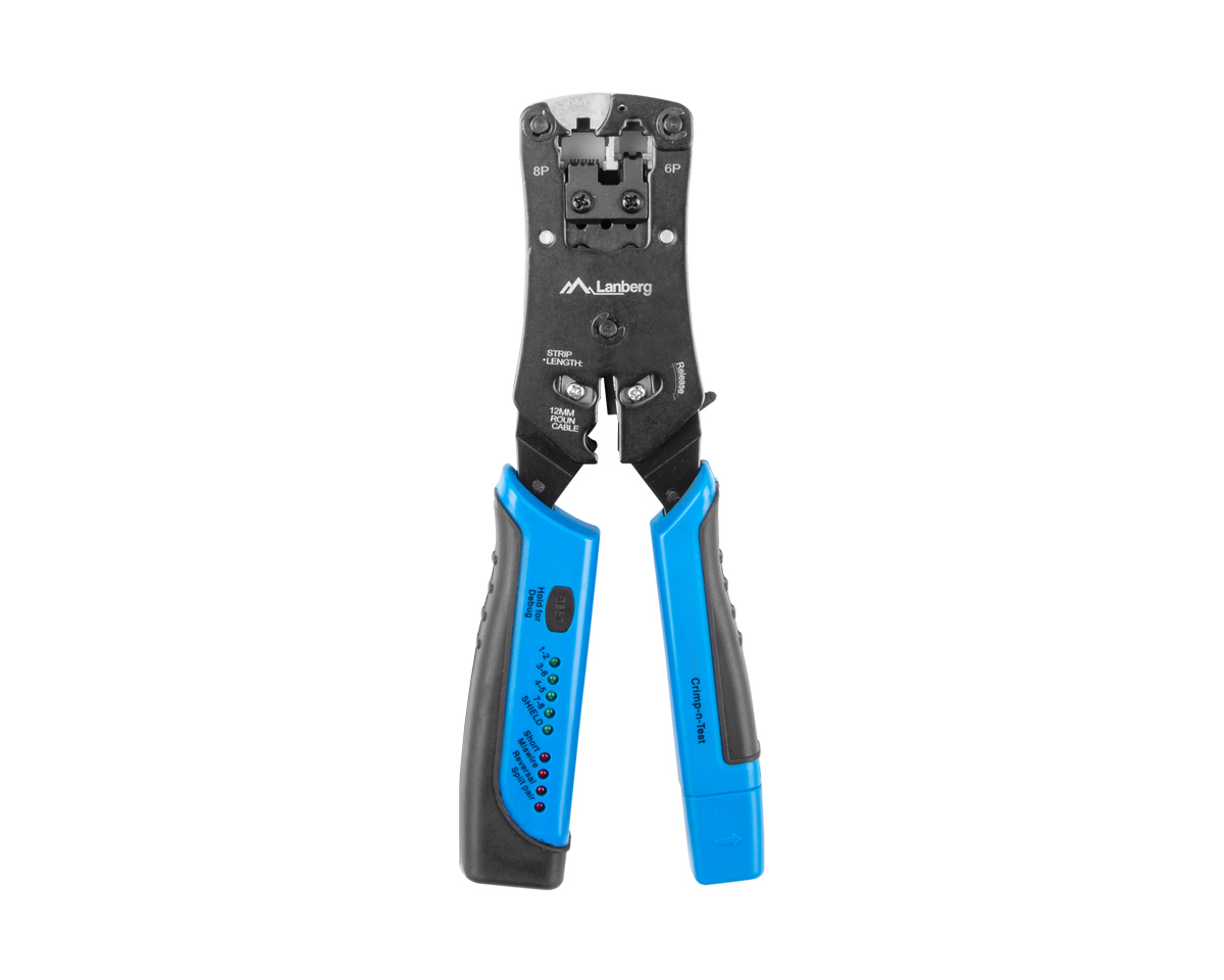 Universal 2in1 Crimping Tool and Cable Tester in the group PC Peripherals / Computer components / Tools at MaxGaming (16566)