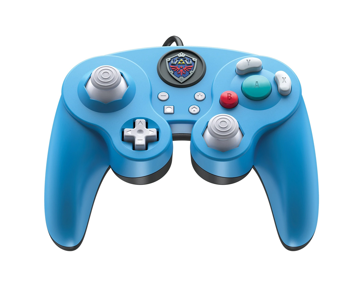 Link Fight Pad Pro Nintendo Switch Controller - Blue in the group Console / Nintendo / Accessories / Controller at MaxGaming (16662)