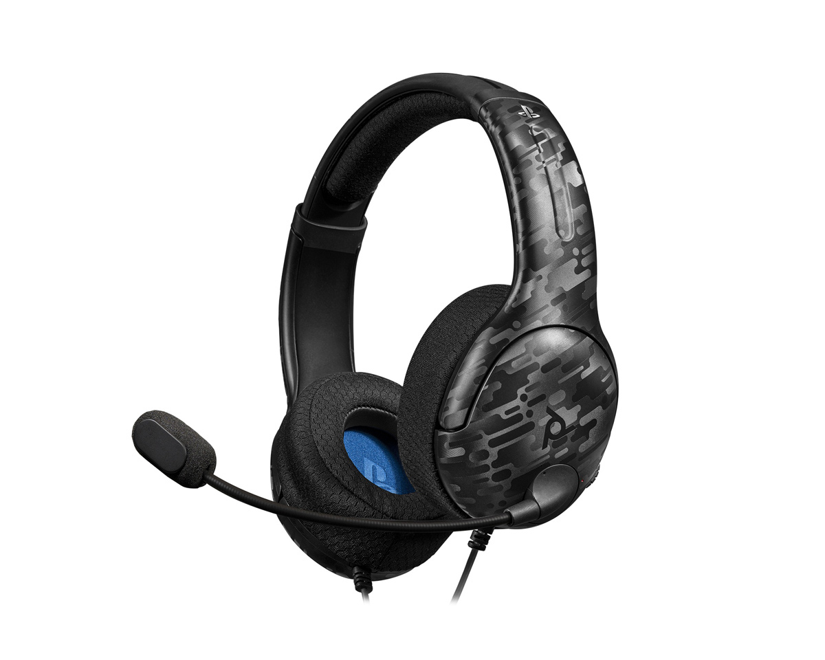 Gaming LVL40 Stereo Headset Camo Black (PS4) in the group Console / Playstation / PS4 Accessories / Headsets at MaxGaming (16663)