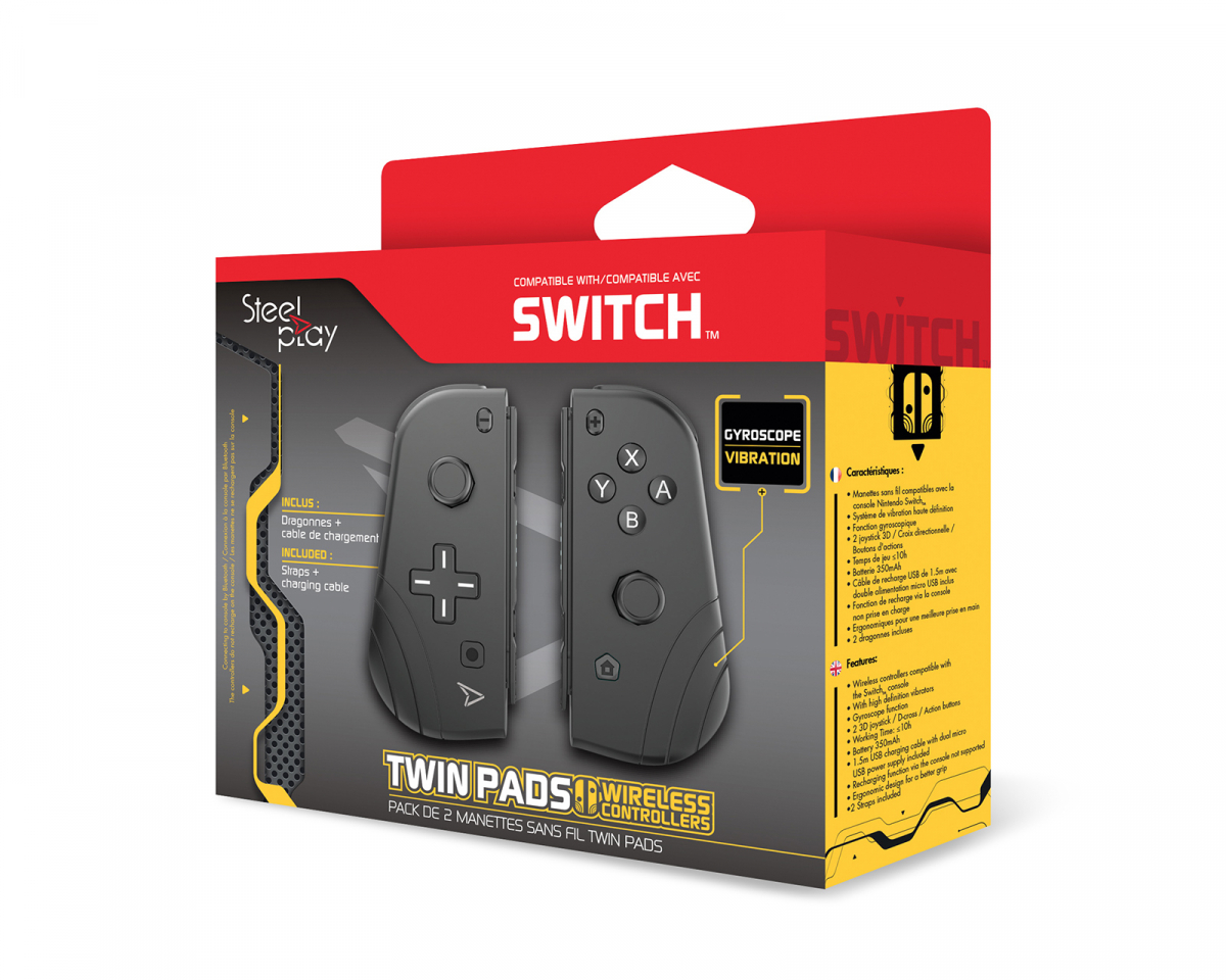 Twin Pads for Nintendo Switch in the group Console / Nintendo / Accessories / Controller at MaxGaming (17026)