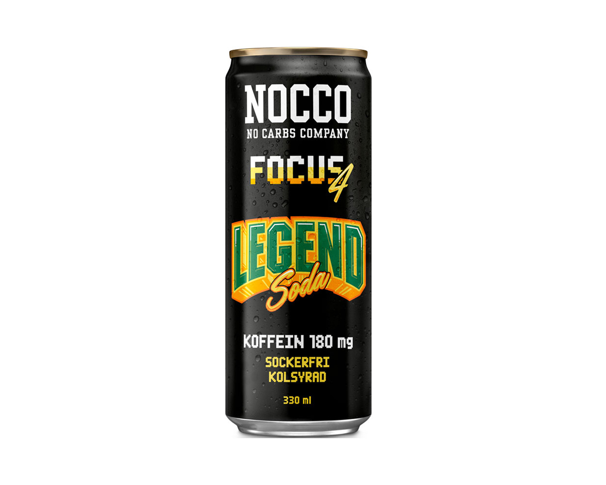 Focus 4 - BCAA 330ml Legend Soda in the group Home & Leisure / Drinks & Energy at MaxGaming (17033)
