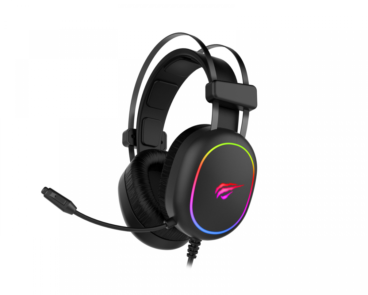 H2016D RGB Gaming Headset in the group PC Peripherals / Headsets & Audio / Gaming headset / Wired at MaxGaming (17042)