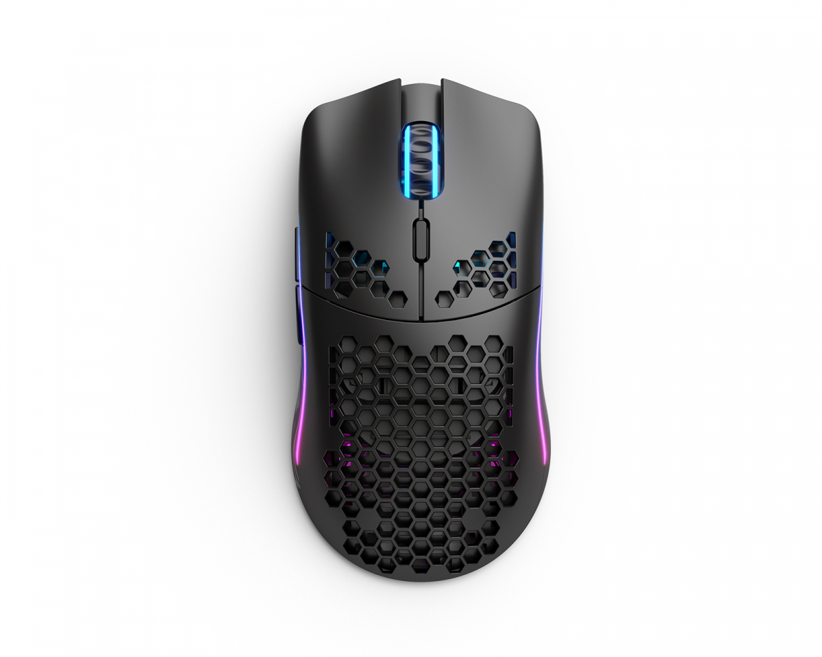 Model O Wireless Gaming Mouse Black in the group PC Peripherals / Mice & Accessories / Gaming mice / Wireless at MaxGaming (17119)