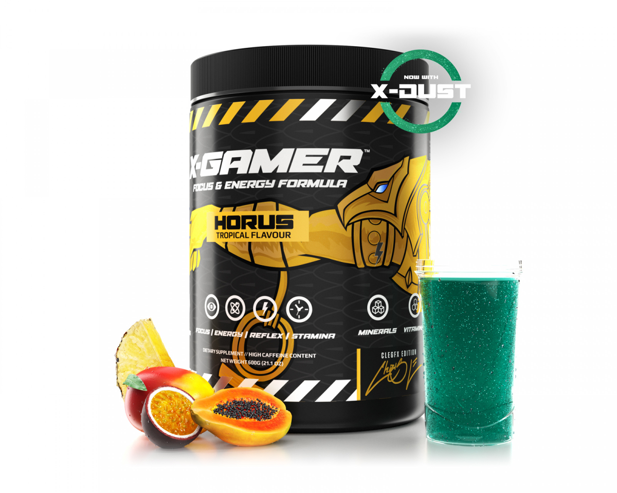 600g X-Tubz HORUS - 60 Servings in the group Home & Leisure / Drinks & Energy at MaxGaming (17171)