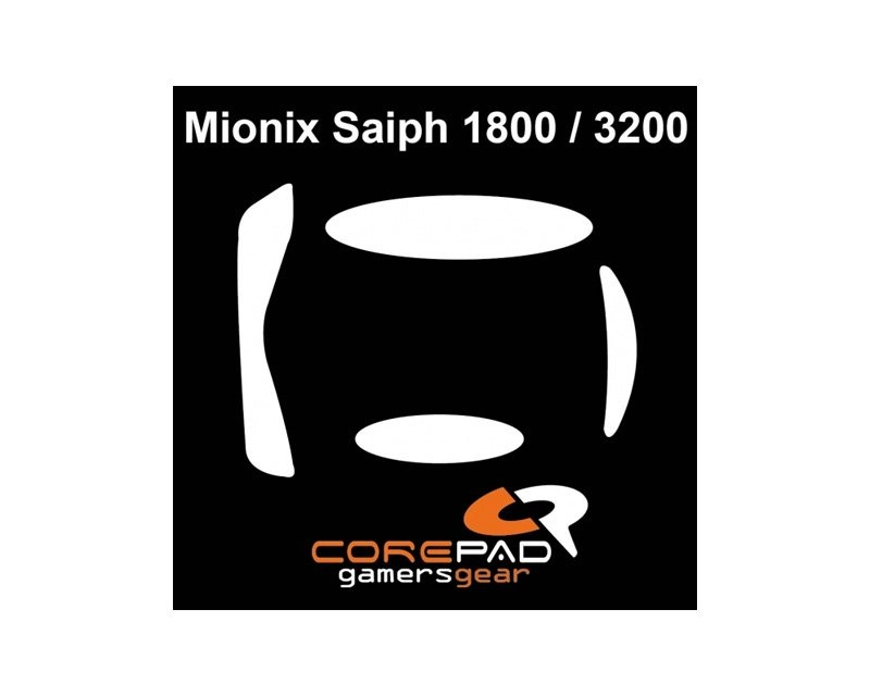 Skatez for Mionix Saiph 1800 in the group PC Peripherals / Mice & Accessories / Mouse skates at MaxGaming (3028)