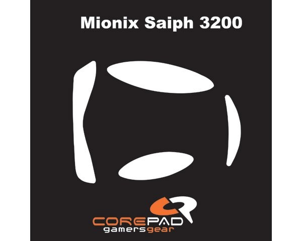 Skatez for Mionix Saiph 3200 in the group PC Peripherals / Mice & Accessories / Mouse skates at MaxGaming (3029)