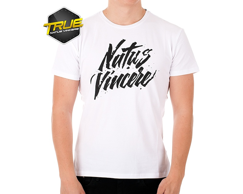 T-Shirt - White in the group Clothing / Team store / Natus Vincere at MaxGaming (6945)