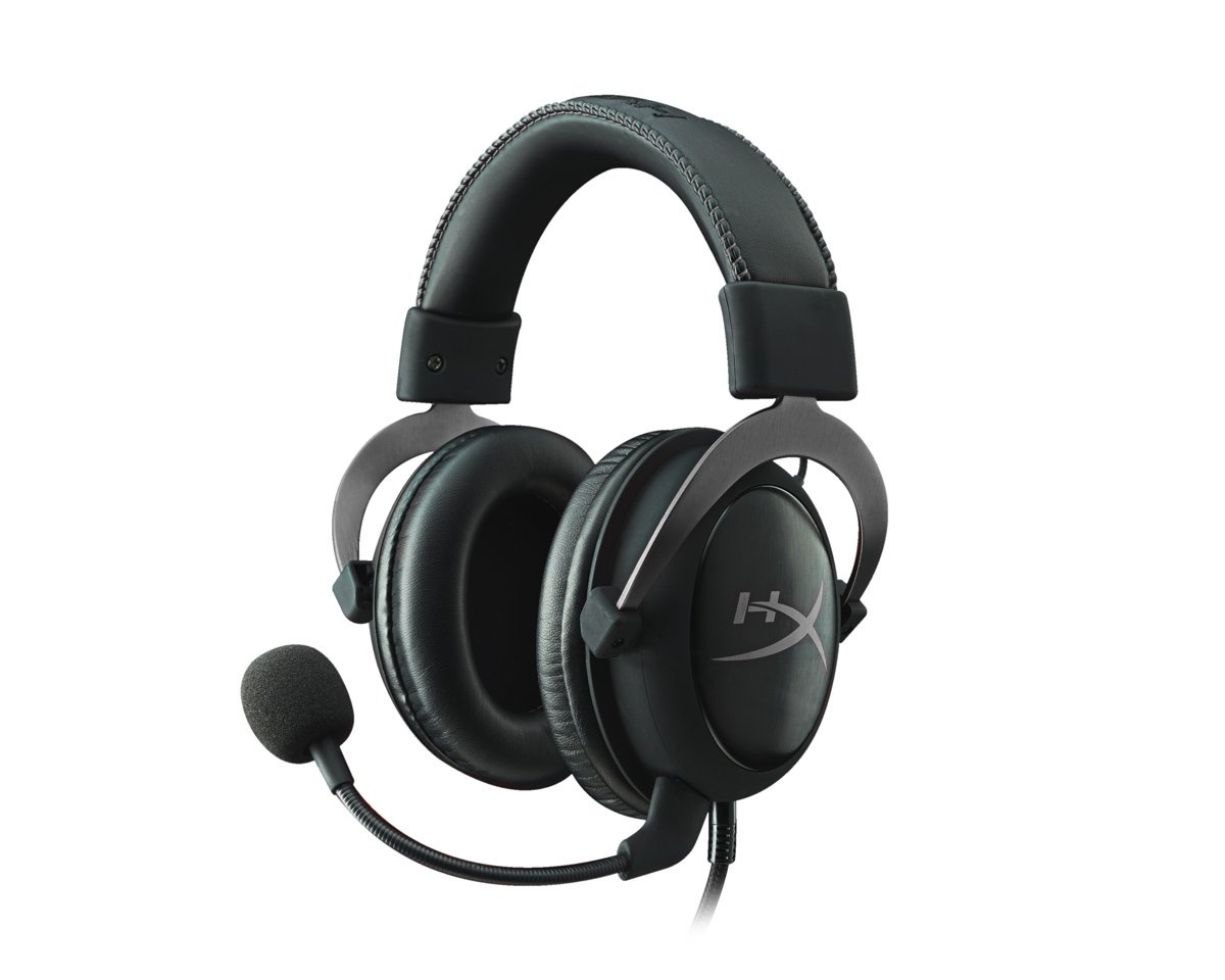 Cloud II Gaming Headset - Gun Metal in the group PC Peripherals / Headsets & Audio / Gaming headset / Wired at MaxGaming (7553)