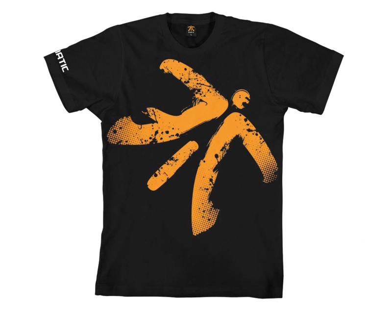 Jumbo Crew Neck Tee in the group Clothing / Team store / Fnatic at MaxGaming (8983)