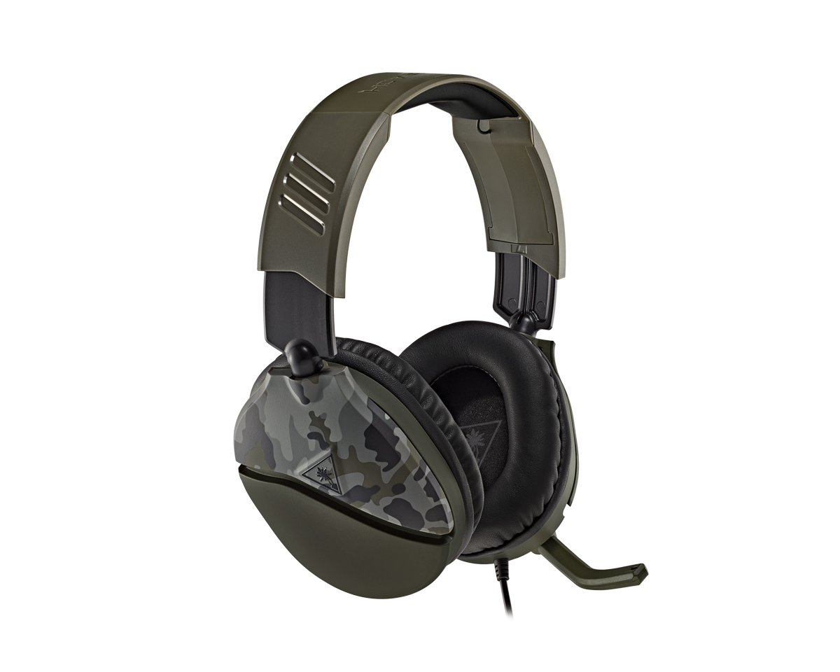 Buy Turtle Beach Recon 70 Gaming Headset Green Camo Ps4 Xbox One Pc Switch At Maxgaming Com