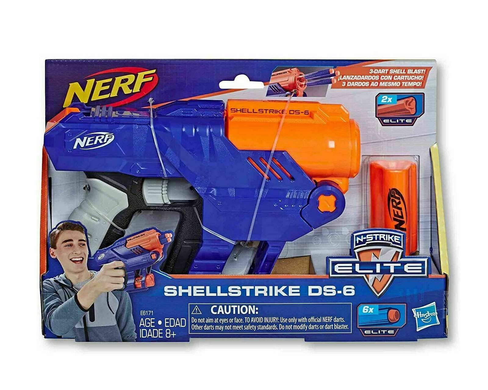 Buy Nerf Elite Shellstrike DS 6 Blaster at MaxGaming.com