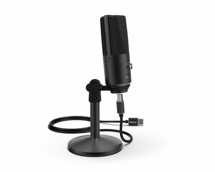 USB Microphone K670B - Black in the group PC Peripherals / Headsets & Audio / Microphones at MaxGaming (100004)