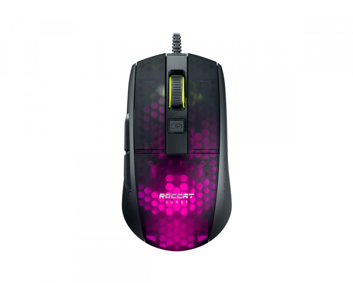 Burst Pro Gaming Mouse Black in the group PC Peripherals / Mice & Accessories / Gaming mice / Wired at MaxGaming (1001020)